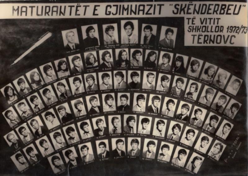 Maturantet 72-73